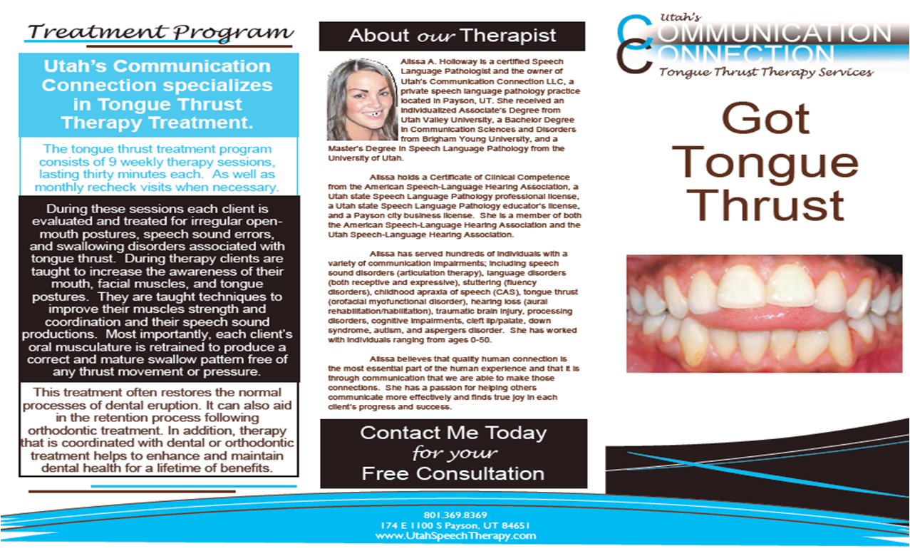 TONGUE THRUST BROCHURE PG2