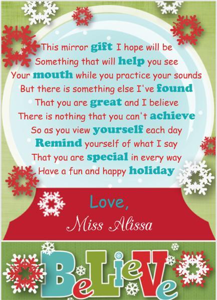 Client Christmas Present
